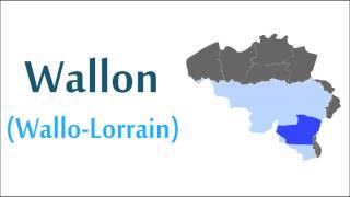10 langues de Wallonie / 10 languages of Wallonia