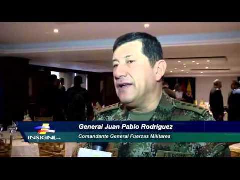 Saludo del Comandante General de las FFMM a los agregados Militares en Colombia
