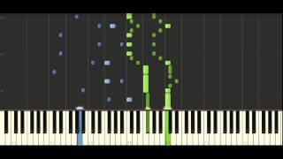 Schubert Moment Musical Op.94 (D780) No.3 - Piano Tutorial - Synthesia
