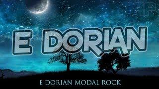 Modal Rock E Dorian Jam Backing Track