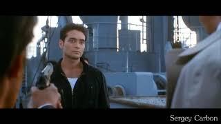 Драйв (1997 г.) Драка на корабле в начале фильма