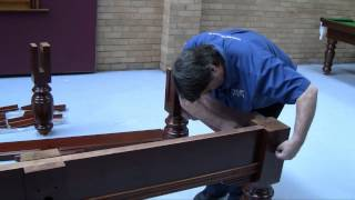 How To Assemble A Legend Ec Pool Snooker Billiard Table