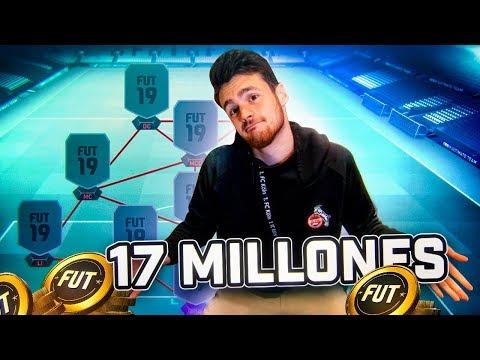 MI EQUIPAZO DE 17 MILLONES PARA CONSEGUIR EL 30-0 EN FUT CHAMPIONS!!