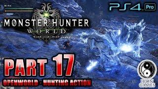 #17【PS4Pro 高画質 / モンスターハンターワールド:MHW】お肉かったいかったい…!幻獣キリン狩猟【癒され実況プレイ】