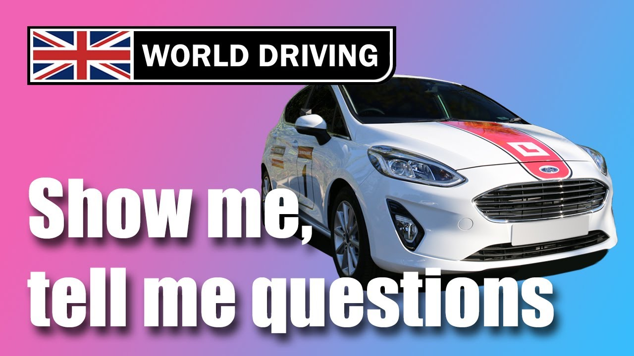 NEW! Show Me, Tell Me Questions 2020: UK driving test questions