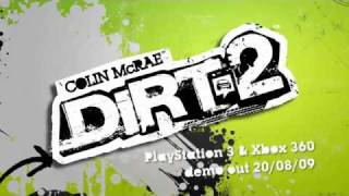 Colin Mcrae Dirt 2  official game trailer for PlayStation 3