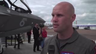 Pilots Praise Power of F135 Engine