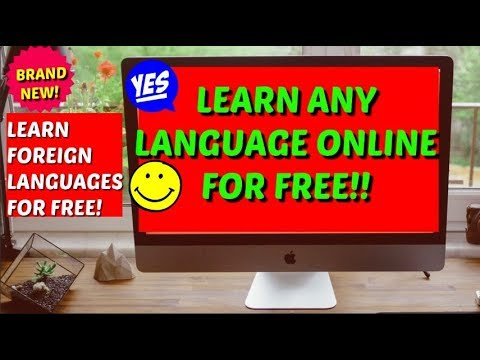 Learn English/French/German/Spanish/Chinese/Russian/Portuguese/Japanese etc. Online for free!!