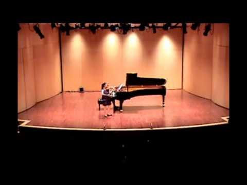 Ladusa Chang-Ou 16y old - Sibelius Violin Concerto (Mvt. 1)