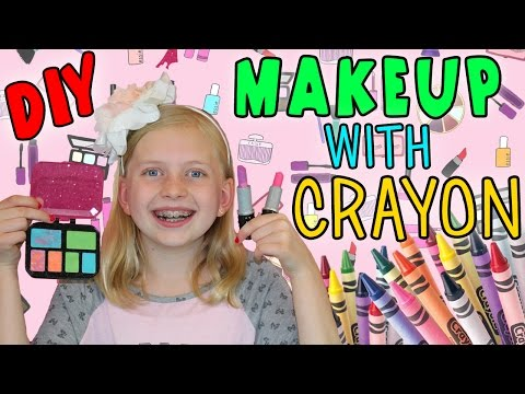Project MC2 DIY Makeup Using Crayons
