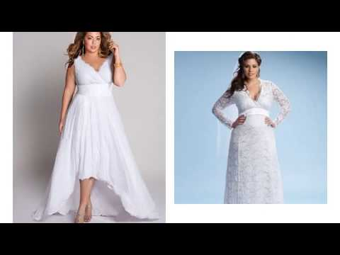 casual-wedding-dresses-plus-size-with-sleeves