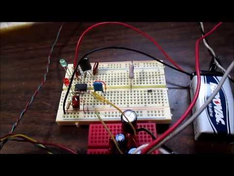 Color organ simple circuit