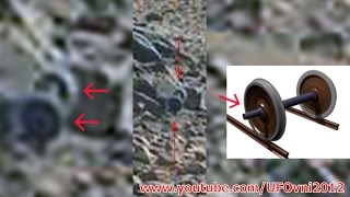 Ancient Aliens On Mars: Train Axle Caught By Curiosity, Sept 30, 2014
