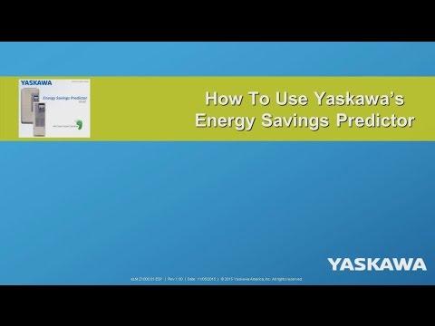 How To Use Yaskawa's Energy Savings Predictor