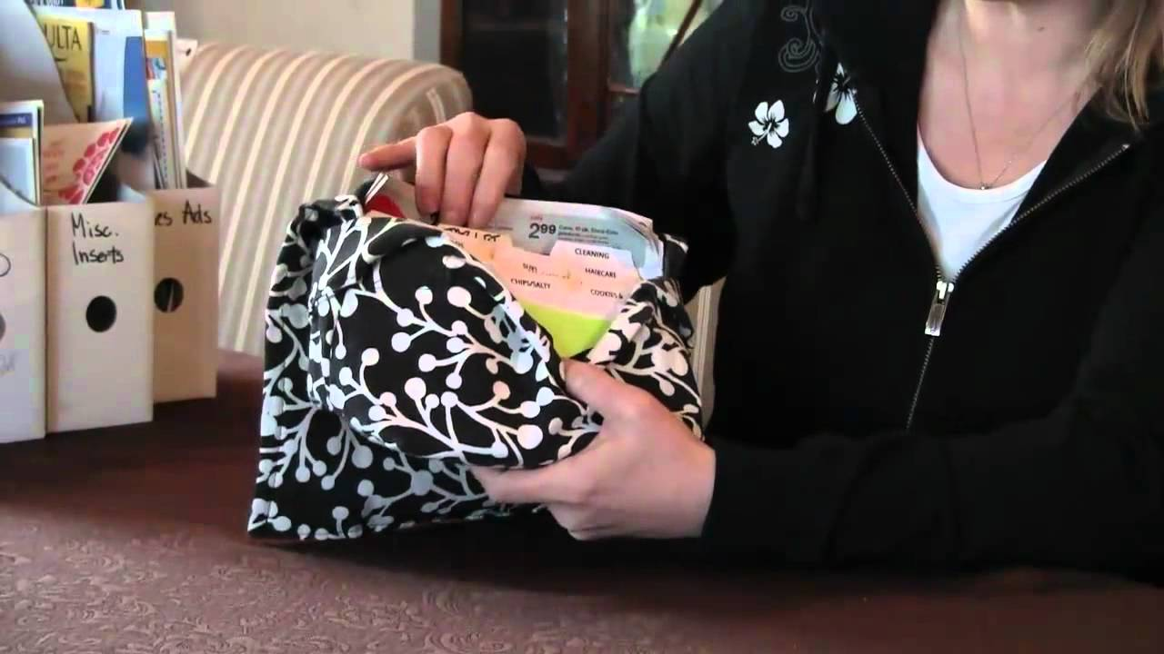 coupon organizer  how a pouch can make your shopping  and