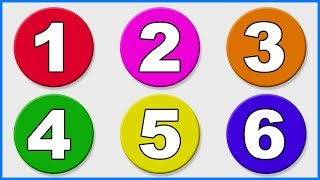 123 Numbers Song | 1234 Number Names | 1 To 10  Counting for Kids | 12345 Cartoon Video