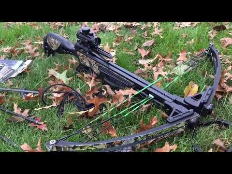 Barnett Jackal Review with Muzzy Broadheads, Rope Cocking Device, Crossbow...