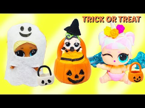 LOL Halloween Costumes Lil Sisters Trick Or Treating Super Monsters