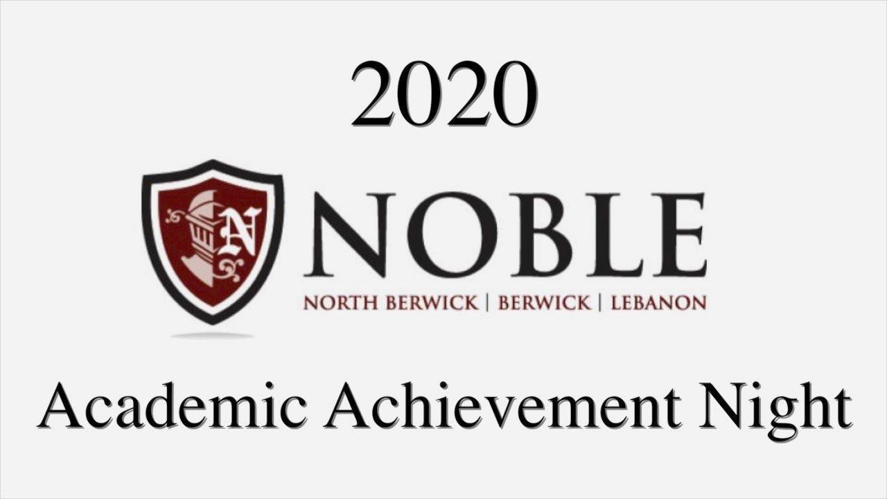 Academic Achievement Night 2020