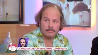 Philippe Katerine, la moustache qui enflamme l'Amérique - C à Vous - 20/11/2017