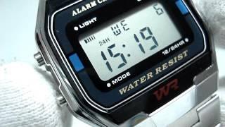 Обзор и настройка часов Casio Retro Watches A163WA-1QGF | Review Casio Retro Watches A163WA-1QGF(Обзор и настройка часов Casio Retro Watches A163WA-1QGF | Review and setting Casio Retro Watches A163WA-1QGF. В данном видео рассказывается о ..., 2016-01-06T12:09:51.000Z)