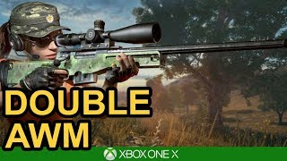 HE GOT IN THE CAR?! / AWM WIN / PUBG Xbox One X