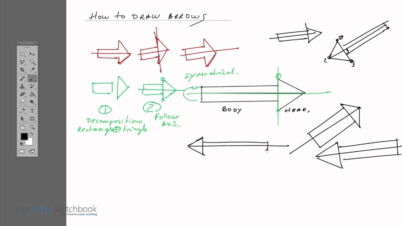 How to draw arrows 63