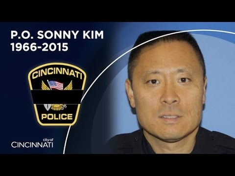 Officer Sonny Kim Funeral Procession