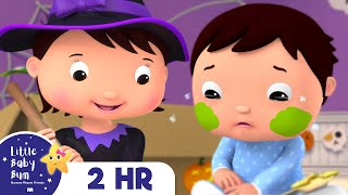 Halloween Boo Boo Song! + 2 HOURS of Nursery Rhymes and Kids Songs | Little Baby Bum