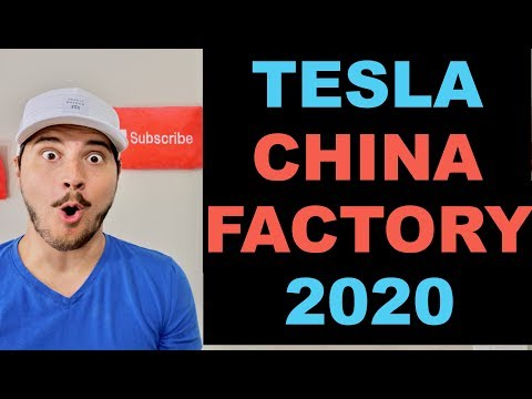 Tesla To Build 500,000 Cars Per Year in Shanghai China!