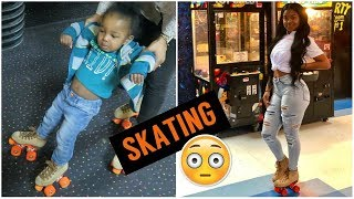 WE WENT SKATING + MIKAH GOES TO THE DENTIST!!