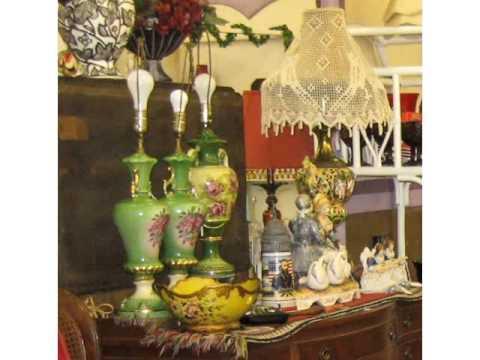 Antique & Vintage Lighting - Wildwood Antique Mall - Melbourne, Florida