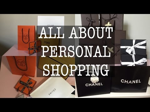 Answering Qs about PERSONAL SHOPPING