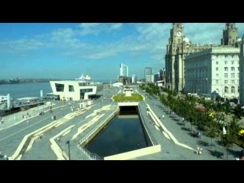 Liverpool Pier Head and waterfront
