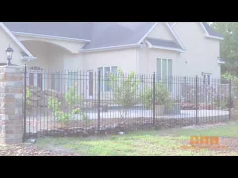 Residential Wrought Iron Fence By Www.fence-depot.com