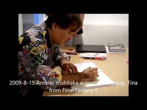 Yoshitaka Amano Live Drawing Compilation 2010-2016
