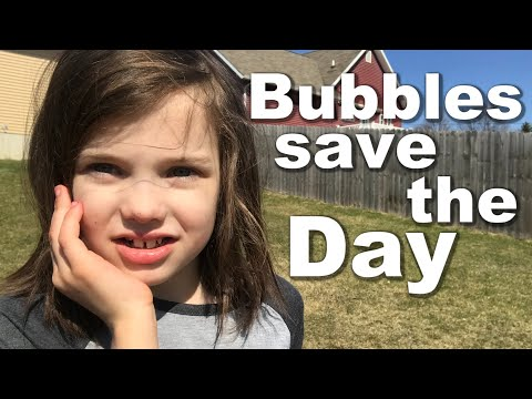 Autism, A Tough Transition, and Bubbles Saving the Day