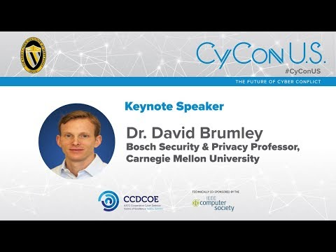 Dr. David Brumley - Bosch Security & Privacy Professor, Carnegie Mellon University