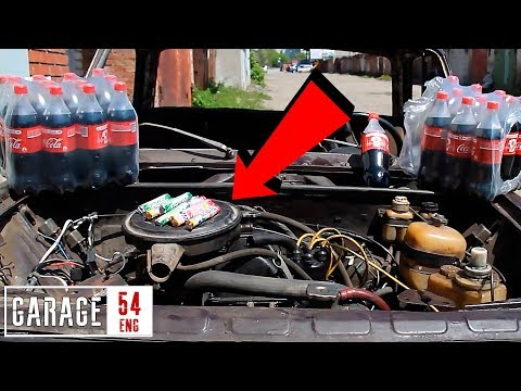 What happens when you pour COCA COLA into your engine?