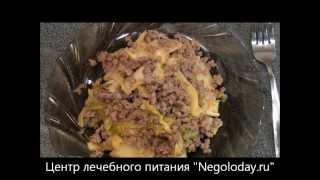 Горячее острое блюдо из фарша и капусты кимчи