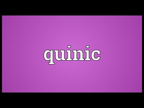 Quinic Meaning