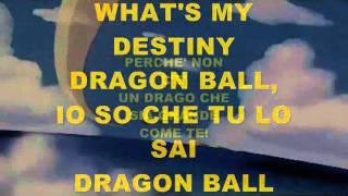 Dragon Ball Z - karaoke by Tongy DJ (sigla italia 1)