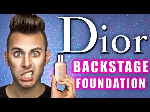 NO BULLSH*T Dior BACKSTAGE Foundation Review | FAIL or HOLY GRAIL?!