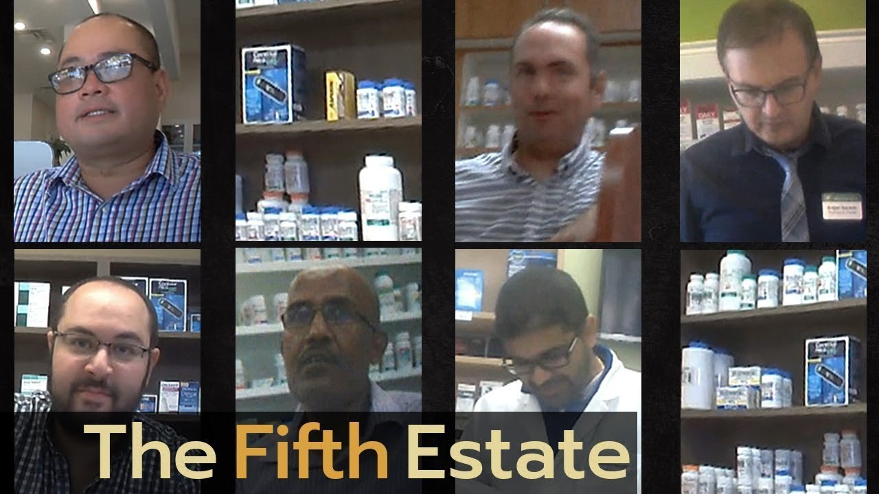 Canadian Undercover Drug Kickbacks: Caught on camera - The Fifth Estate