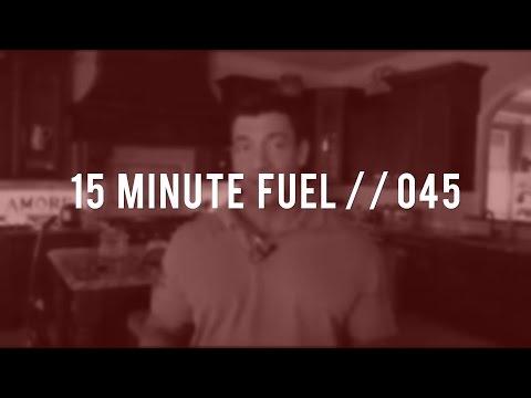 Anti inflammatory Protocols // 15 minute fuel 045