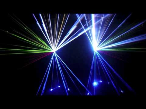 Show Laser KVANT Vangelis - Conquest of Paradise - Midnight Sound Event
