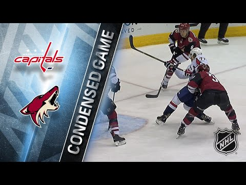 12/22/17 Condensed Game: Capitals @ Coyotes