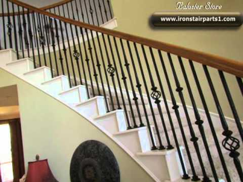 Iron Balusters Installation Youtube