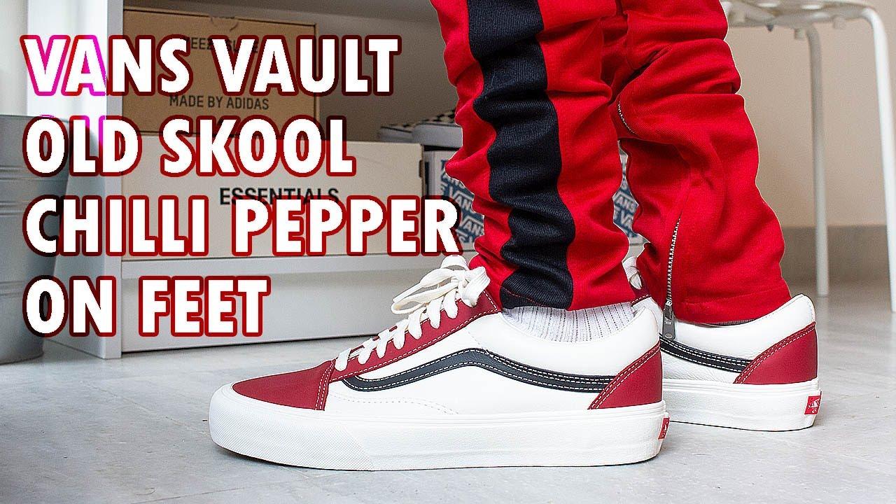 Vans Vault Old Skool 'Chilli Pepper