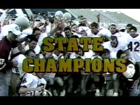 1999 South Portland Red Riots Football Highlight Film
